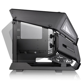 Thermaltake AH T200 Tempered Glass Micro-ATX Case - Black Product Image 2