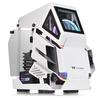 Image for Thermaltake AH T200 Tempered Glass Micro-ATX Case - Snow AusPCMarket