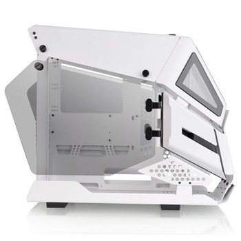 Thermaltake AH T200 Tempered Glass Micro-ATX Case - Snow Product Image 2
