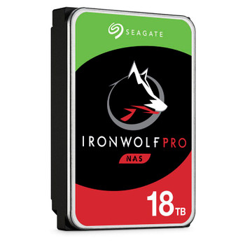 Seagate ST18000NE000 18TB IronWolf Pro 3.5in SATA NAS Hard Drive Product Image 2