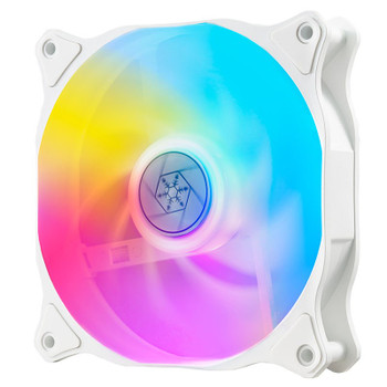 Image for SilverStone Air Blazer 120R 120mm ARGB PWM Case Fan - White AusPCMarket
