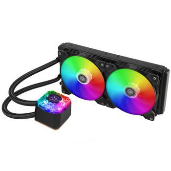 Image for SilverStone IceGem 280 ARGB Liquid CPU Cooler AusPCMarket