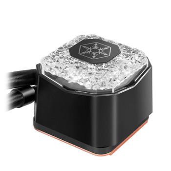 SilverStone IceGem 280 ARGB Liquid CPU Cooler Product Image 2