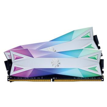 Image for Adata XPG Spectrix D60G 16GB (2x 8GB) DDR4 3600MHz RGB Memory - White AusPCMarket