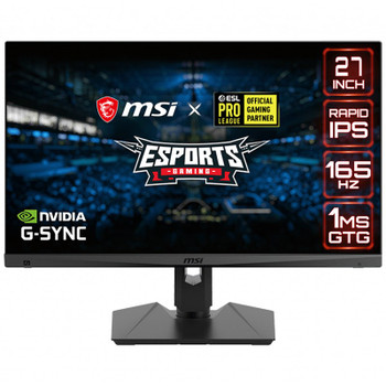 Image for MSI Optix MAG274QRF-QD 27in 165Hz WQHD 1ms HDR G-Sync USB-C IPS Gaming Monitor AusPCMarket