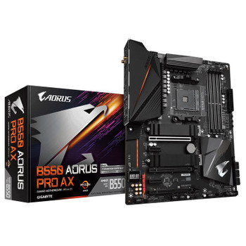 Image for Gigabyte B550 AORUS PRO AX AM4 ATX Motherboard AusPCMarket