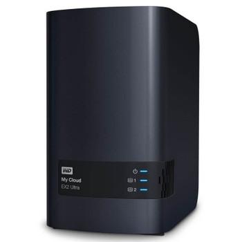 Image for Western Digital WD My Cloud EX2 Ultra 2-Bay 8TB Hotswap Diskless NAS 1.3GHz Dual-Core 1GB RAM AusPCMarket
