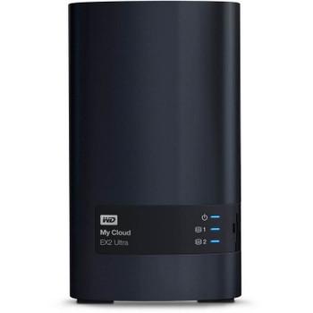 Western Digital WD My Cloud EX2 Ultra 2-Bay 8TB Hotswap Diskless NAS 1.3GHz Dual-Core 1GB RAM Product Image 2
