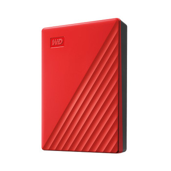 Western Digital WD My Passport 2TB USB 3.0 Portable Storage - Red Product Image 2