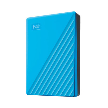 Western Digital WD My Passport 4TB USB3.0 Portable Storage - Blue Product Image 2