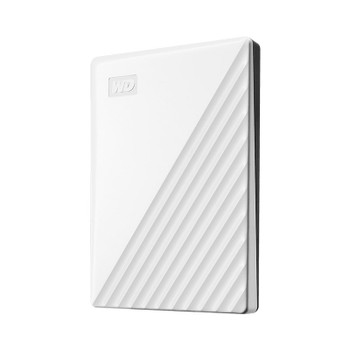 Western Digital WD My Passport 4TB USB3.0 Portable Storage - White Product Image 2