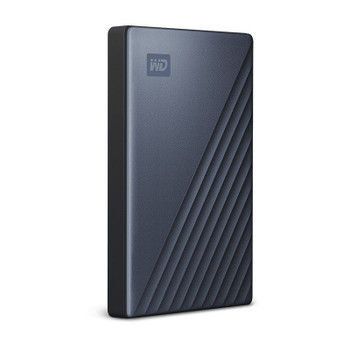 Western Digital WD My Passport Ultra 2TB USB-C/USB 3.1 Portable Storage - Blue Product Image 2