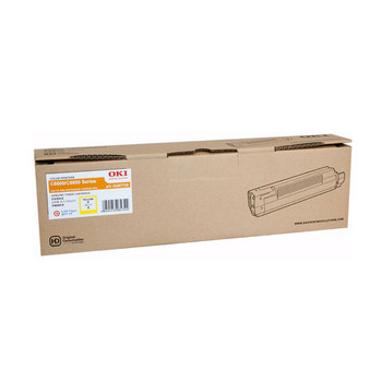 Image for OKI Toner Yellow C8600 HY 6,000 pages Yellow AusPCMarket