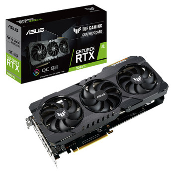 Image for Asus GeForce RTX 3060 Ti TUF Gaming OC 8GB Video Card AusPCMarket