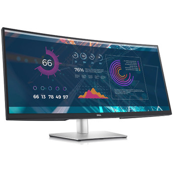 Image for Dell P-Series P3421W 34in Ultra-Wide WQHD Curved USB-C IPS Monitor AusPCMarket