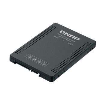 Image for QNAP QDA-A2MAR 2 Slot M.2 SATA to 1 Slot 2.5in SATA Drive Bay AusPCMarket