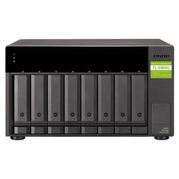 Image for QNAP TL-D800C 8 Bay Desktop USB JBOD SATA Storage Expansion Enclosure AusPCMarket