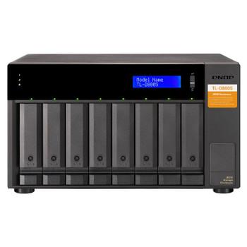Image for QNAP TL-D800S 8 Bay Desktop JBOD SATA Storage Expansion Enclosure AusPCMarket