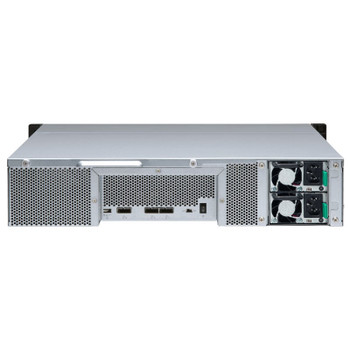 QNAP TL-R1200S-RP 12 Bay 2U Rackmount SATA Storage Expansion Enclosure Product Image 2