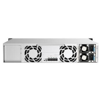 QNAP TL-R1220Sep-RP 12 Bay 2U Rackmount SAS Storage Expansion Enclosure Product Image 2