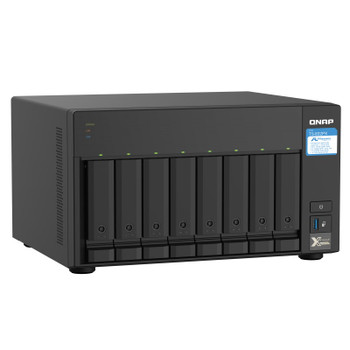 QNAP TS-832PX-4G Desktop 8-Bay Diskless NAS Alpine Quad-Core 4GB RAM Product Image 2