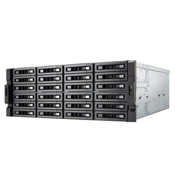 QNAP TS-h2483XU-RP-E2236-128G 24-Bay Diskless NAS Intel Xeon 6-Core 128GB RAM Product Image 2