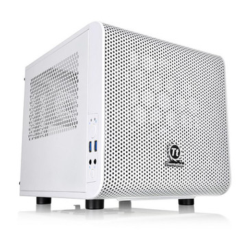 Image for Thermaltake Core V1 Mini ITX Case - Snow Edition AusPCMarket