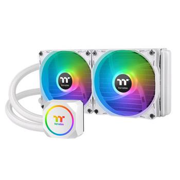 Image for Thermaltake TH240 ARGB Sync AIO Liquid CPU Cooler - Snow Edition AusPCMarket