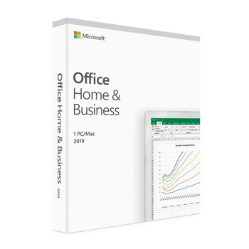 Image for Microsoft Office 2019 Home and Business for Windows or Mac - Medialess Retail AusPCMarket