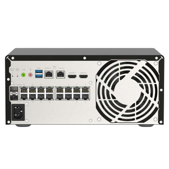 QNAP QGD-3014-16PT-8GB 16-Port GbE PoE 8GB Managed Switch with SFP Combo Product Image 2