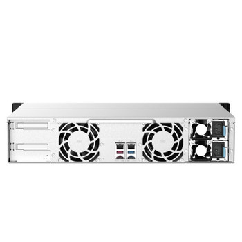 QNAP TS-1273AU-RP-8G 12-Bay Rackmount Diskless NAS Ryzen V1500B 8GB RAM Product Image 2