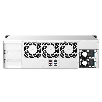 QNAP TS-1673AU-RP-16G 16-Bay Rackmount Diskless NAS Ryzen V1500B 16GB RAM Product Image 2