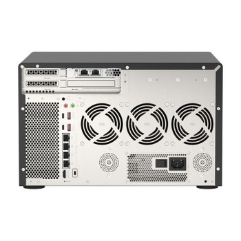 QNAP TVS-h1288X-W1250-16G 12-Bay Diskless NAS Xeon W-1250 6-Core 16GB RAM Product Image 2