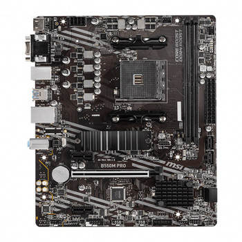 MSI B550M PRO AM4 Micro-ATX Motherboard Product Image 2
