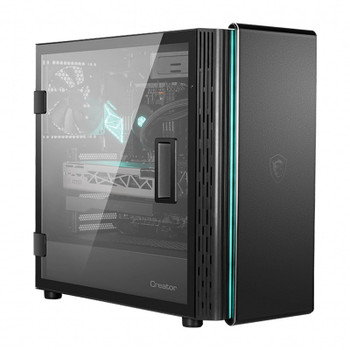 MSI Creater 400M Tempered Glass Mid-Tower ATX Case Main Product Image