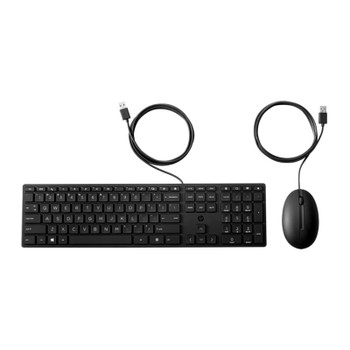 HP Wired Desktop 320MK Keyboard & Mouse Combo Main Product Image