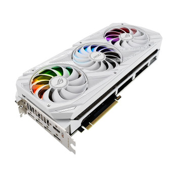 Asus GeForce RTX 3090 ROG Strix Gaming OC 24GB Video Card - White Edition Product Image 2