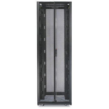 APC AR3157 NetShelter SX 48U Enclosure with Sides - Black Main Product Image