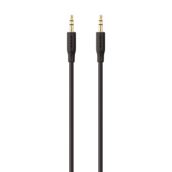 Belkin Essential Series Stereo 3.5mm Audio Cable 2m - Universally compatible - White  Main Product Image