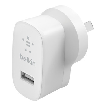 Belkin Single Port 12W USB-A - Universally compatible - White  Main Product Image