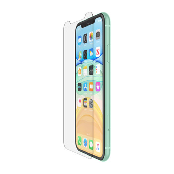 Belkin SCREENFORCE Tempered Glass Screen Protector - For Apple for iPhone 11 - Clear Main Product Image