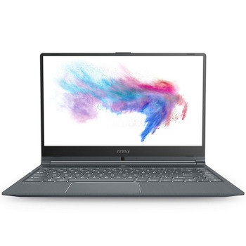 MSI Modern 14 B10MW 14in Laptop i3-10110U 8GB 256GB W10P - Carbon Gray Main Product Image