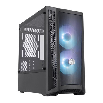 Cooler Master MasterBox MB311L ARGB Tempered Glass Micro-ATX Case Main Product Image