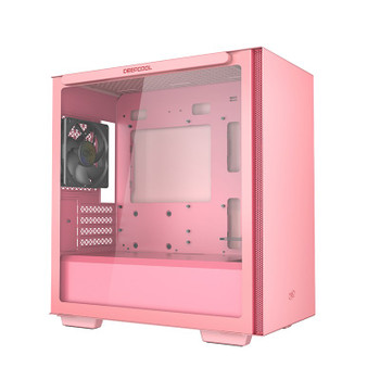 Deepcool MACUBE 110 Tempered Glass Mini Tower Micro-ATX Case - Pink Product Image 2
