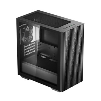 Deepcool MATREXX 40 Tempered Glass Micro-ATX Case - Black Main Product Image