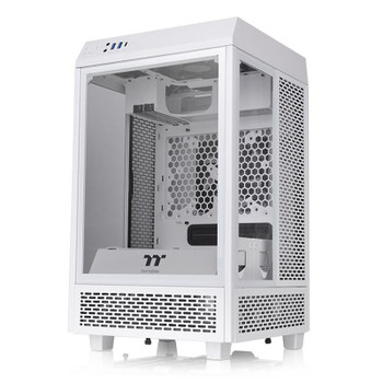 Thermaltake The Tower 100 Mini Tempered Glass M-ITX Case - Snow Edition Main Product Image