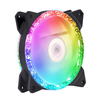 Cooler Master MasterFan MF120 Prismatic ARGB 120mm Fan Main Product Image