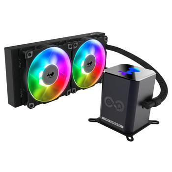In Win SR24 Pro 240mm ARGB All-in-One Liquid CPU Cooler Main Product Image