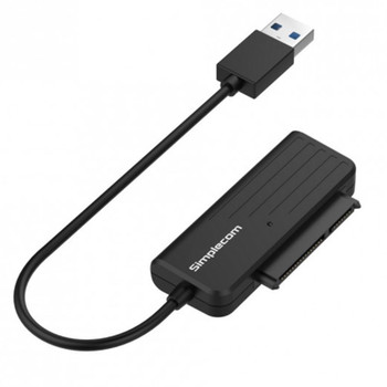 Simplecom SA205 Compact USB-A 3.0 to SATA External Adapter Cable Converter Main Product Image