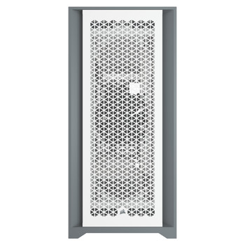 Corsair 5000D AIRFLOW Tempered Glass Mid-Tower ATX PC Case — White Product Image 2